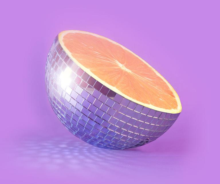 The Citrus & Violet Haze fragrance