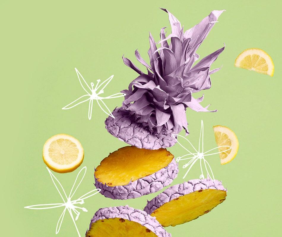 The Pineapple Flower fragrance