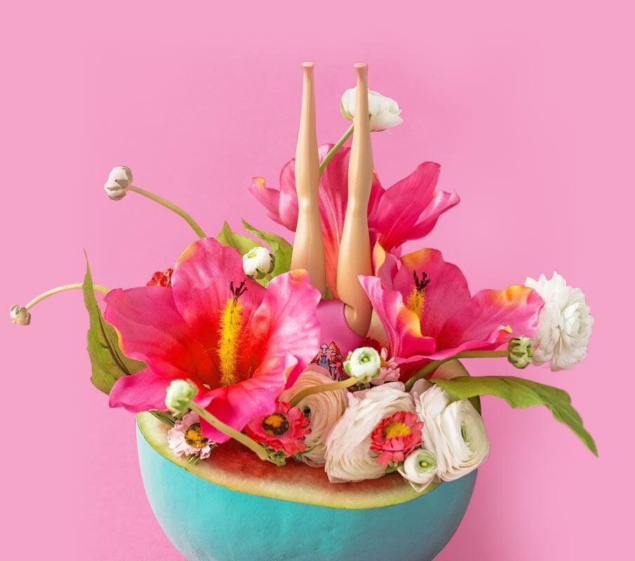 The Exotic Blossom & Basil fragrance