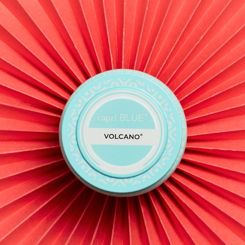 Volcano Aqua Printed Travel Candle Tin Alt Product View 4 image number 4