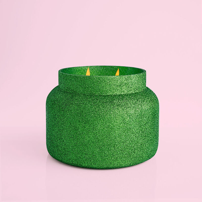 Alpine Juniper Glam Jumbo Candle, 48oz with no lid image number 2