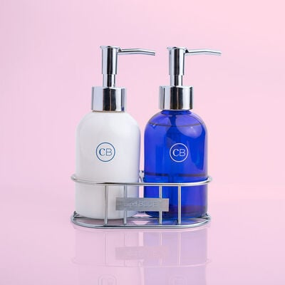 Blue Jean Sink Set - Hand Wash + Lotion Duo