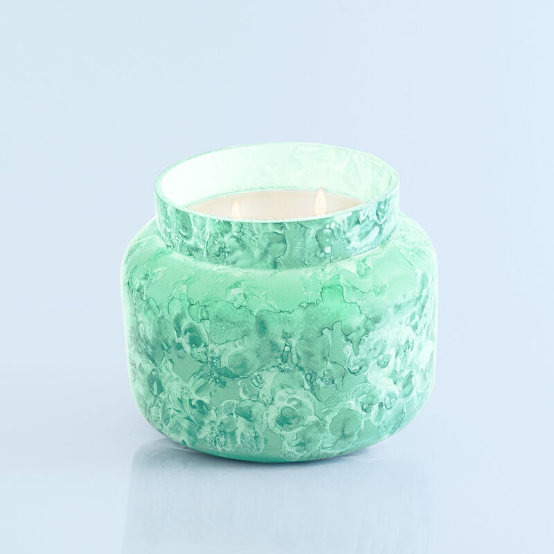 Volcano Watercolor Jumbo Jar, 48 oz product when lit image number 2