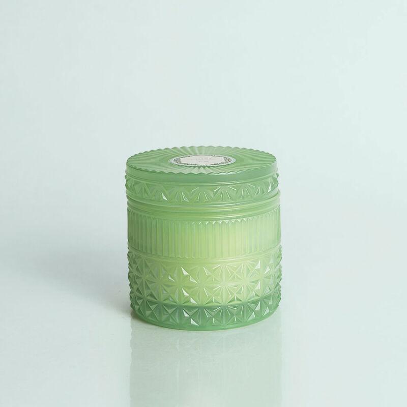 Volcano Faceted Candle Jar, 11 oz image number 0