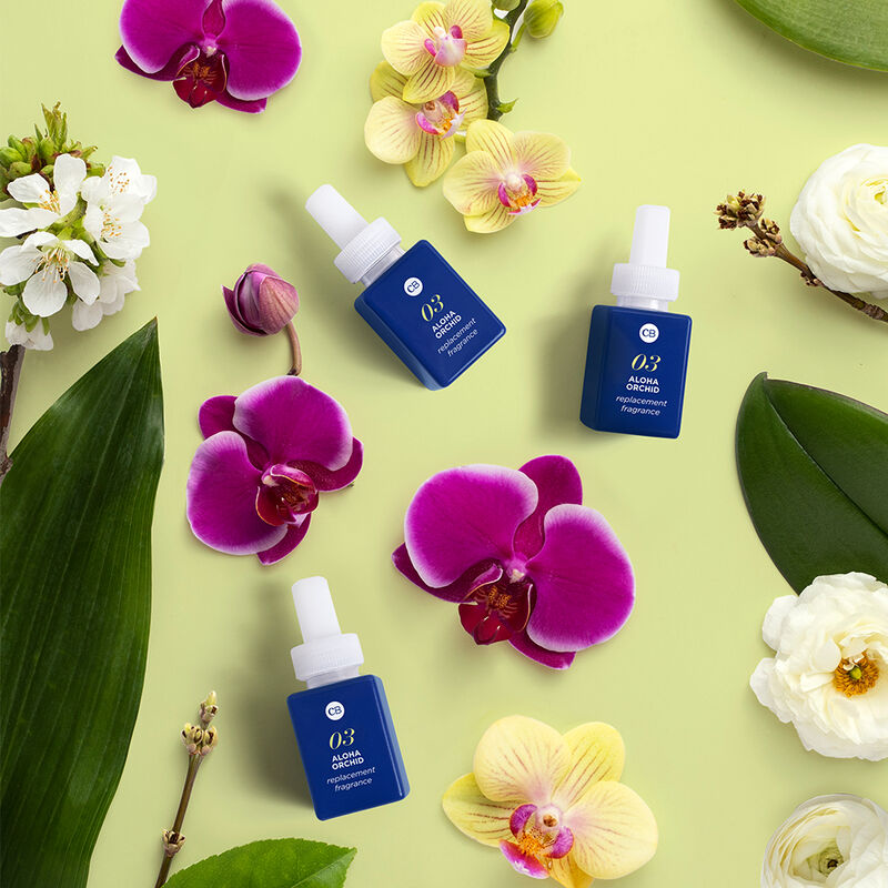 CB+ Pura Diffuser Refill, Aloha Orchid refills with Aloha Orchid fragrance notes image number 4