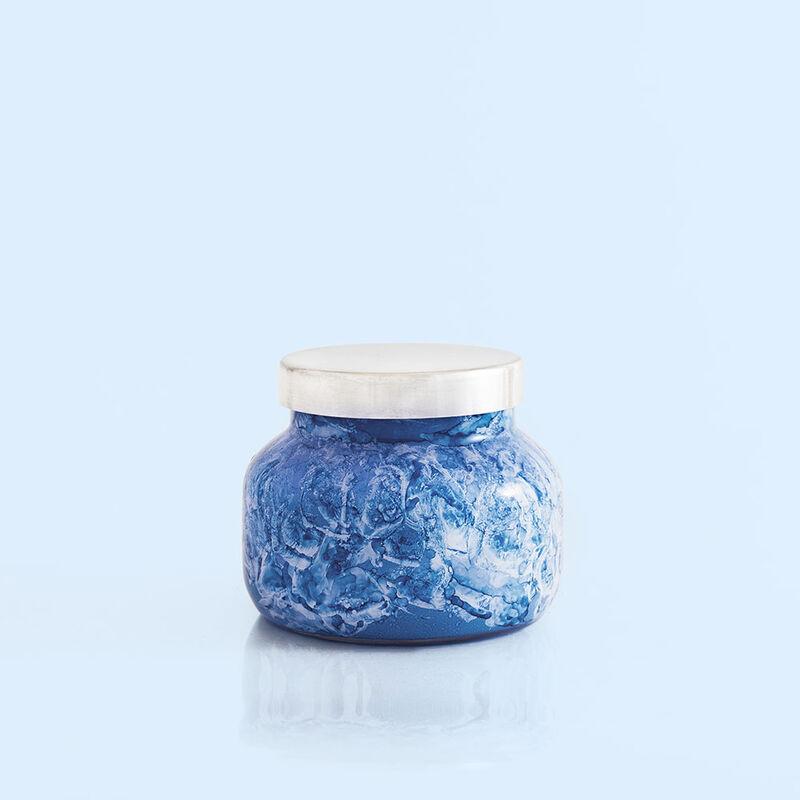 Blue Jean Watercolor Petite Jar, 8 oz alt product view image number 1