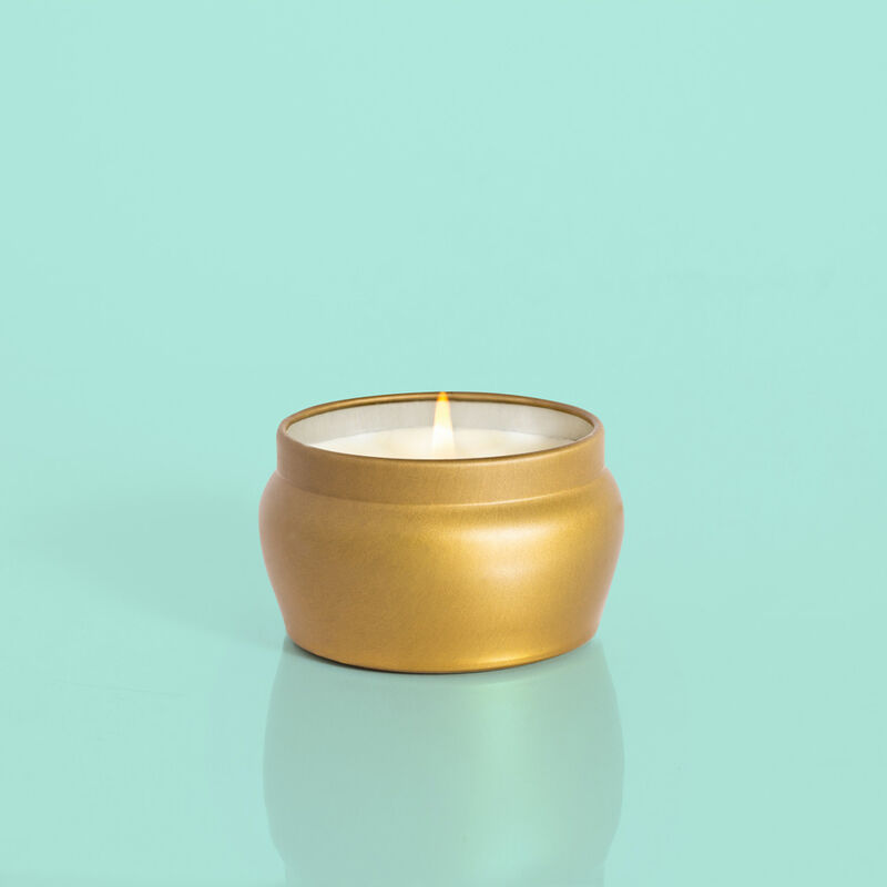 Pumpkin Dulce Glam Mini Tin Candle, 3oz Product Profile View image number 3