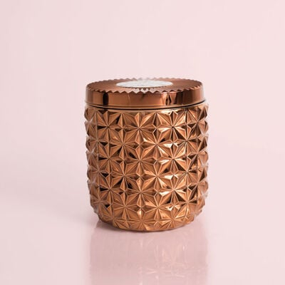 Dark Vanilla & Sandalwood Jumbo Gilded Faceted Jar, 30 oz