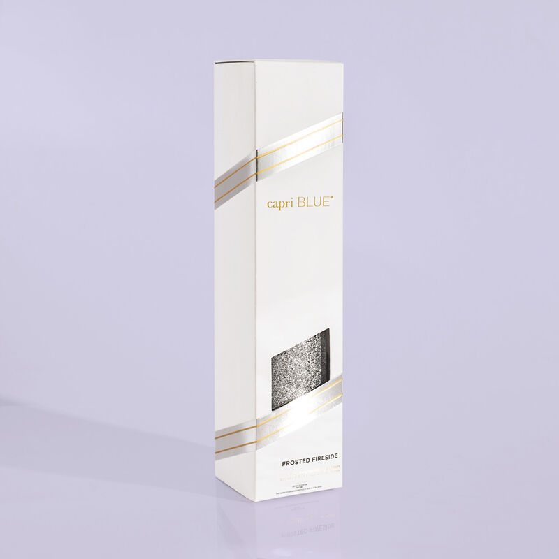 Frosted Fireside Glam Reed Diffuser product view in box image number 2