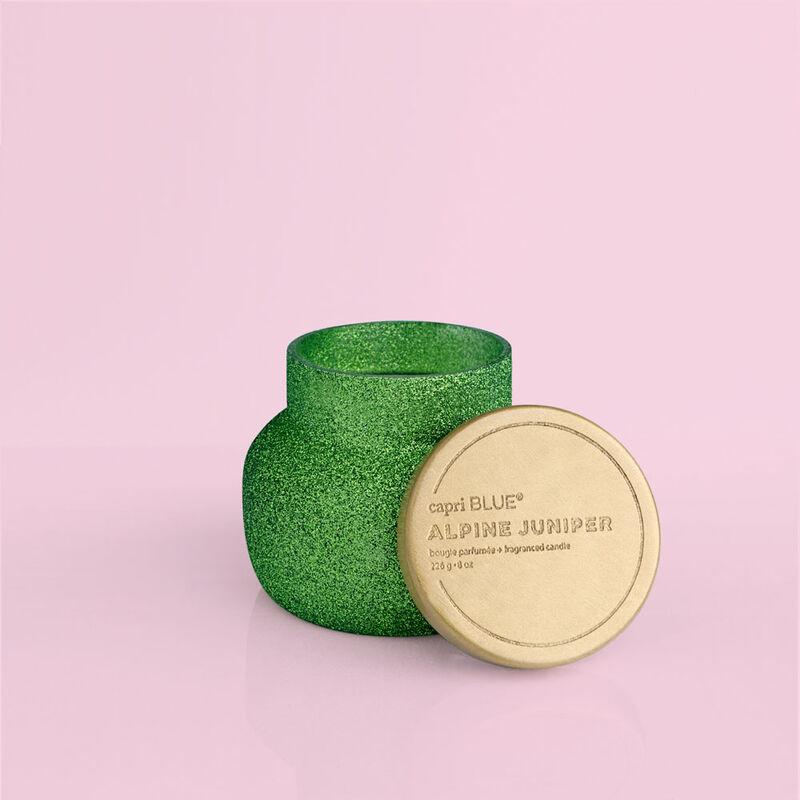 Alpine Juniper Glam Petite Jar, 8 oz product with lid off image number 3