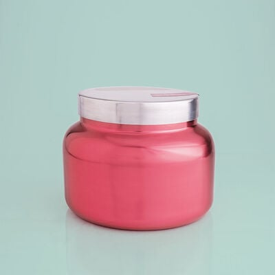 Peppermint Metallic Pink Jumbo Jar, 48 oz