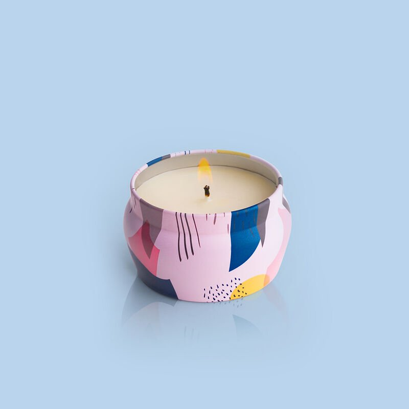 Lola Blossom Gallery Mini Tin Candle, 3 oz Alt Product View image number 1