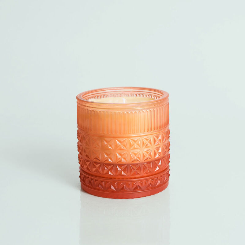 Pomegranate Citrus Faceted Jar, 11 oz Candle without lid not burning image number 2