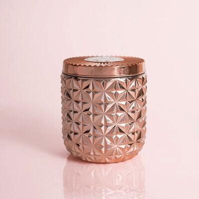 Pink Grapefruit & Prosecco Jumbo Gilded Faceted Jar, 30 oz