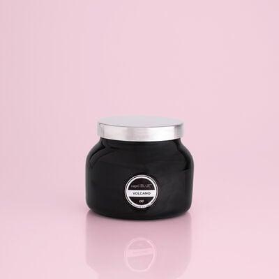 Volcano Black Petite Jar, 8 oz