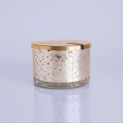 Blue Jean Mercury Candle Bowl, 15 oz