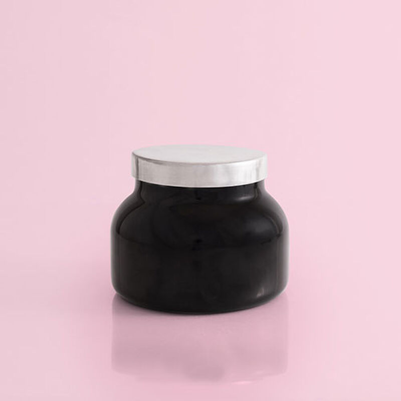 Volcano Black Signature Candle Jar, 19 oz rear product view image number 2