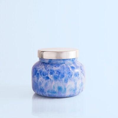 Blue Jean Watercolor Signature Jar, 19 oz
