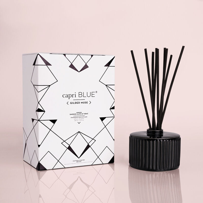Smoked Clove & Tabac Gilded Reed Diffuser, 7.75 fl oz image number 0