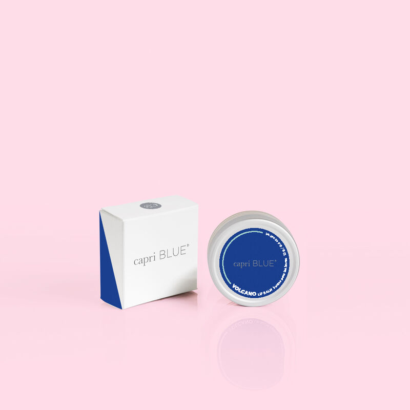Volcano Lip Balm product outside of box with lid highlight image number 1
