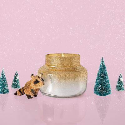 Crystal Pine Glitz Petite Candle Surprise