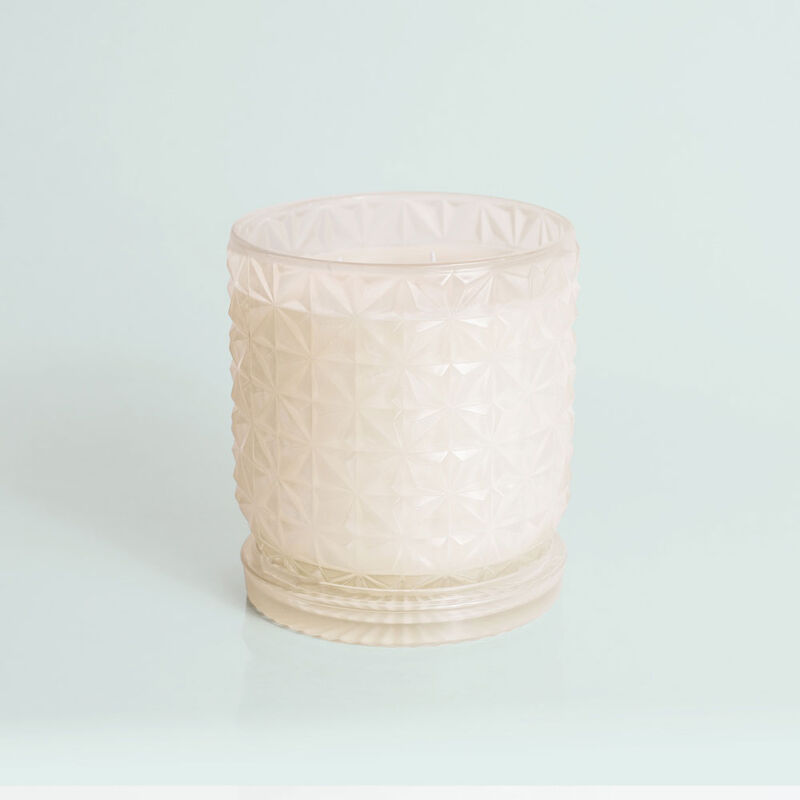 Modern Mint Jumbo Faceted Candle Jar, 30 oz Candle without Lid image number 2