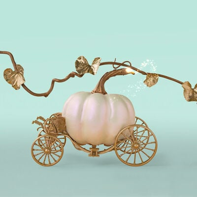 Pumpkin Dulce Glam Signature Jar, 19 oz product with fairytale vines