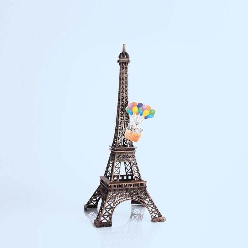 Paris Watercolor Signature Jar, 19 oz pariz fragrance eiffel tower image number 4