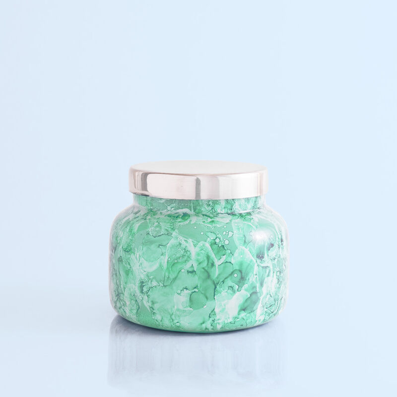 Volcano Watercolor Signature Jar, 19 oz Candle with Lid image number 0
