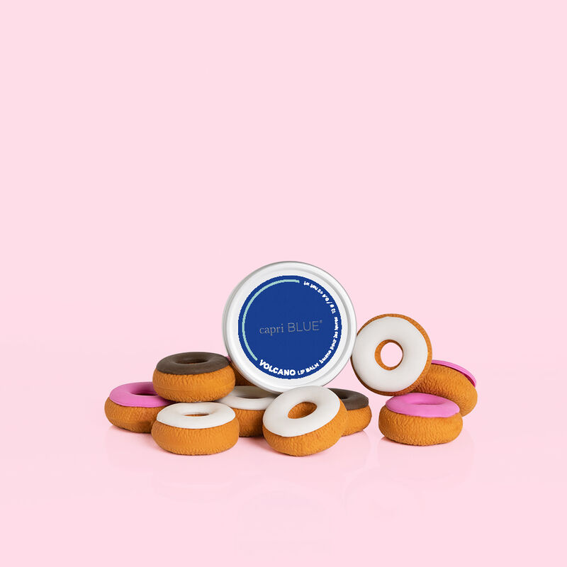Volcano Lip Balm product with donuts image number 3