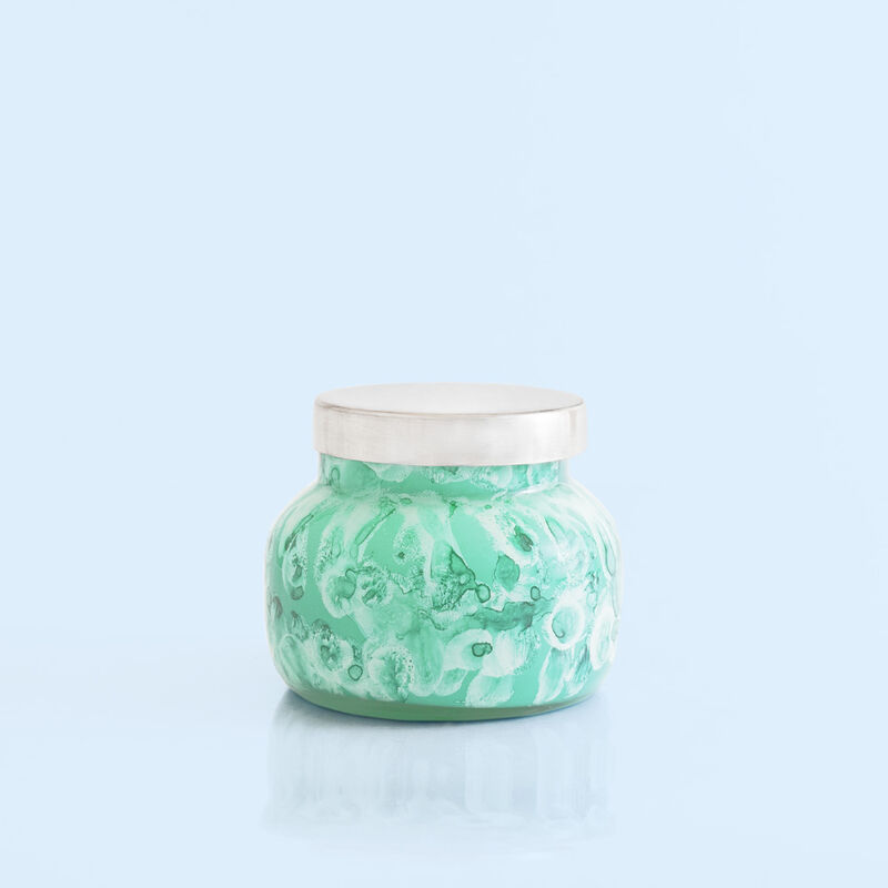 Volcano Watercolor Petite Candle Jar, 8 oz product view image number 0