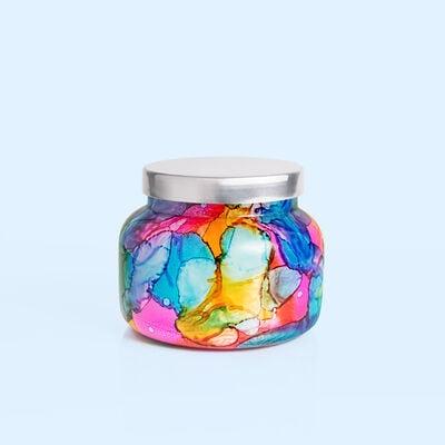 Volcano Rainbow Watercolor Signature Jar, 19 oz