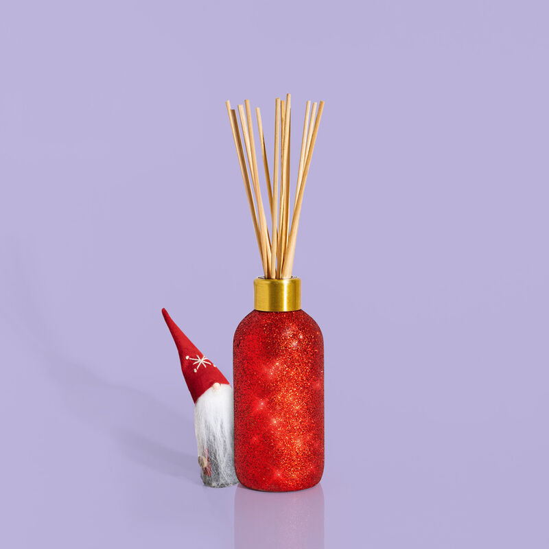 Volcano Glam Reed Diffuser product with peek a boo gnome image number 1