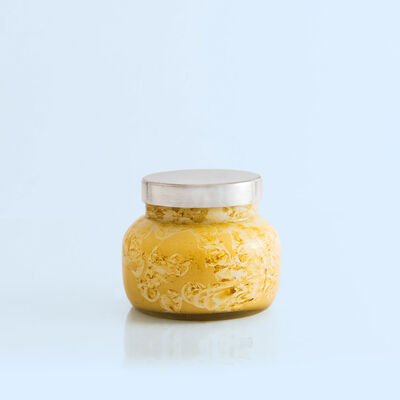 Aloha Orchid Watercolor Petite Candle Jar, 8 oz Alt Product View