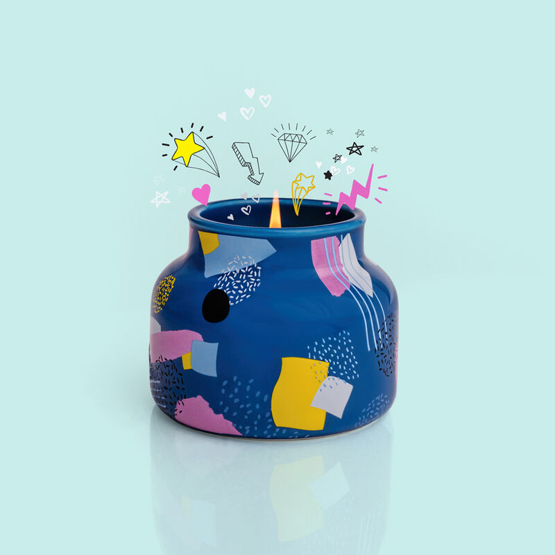 Volcano Gallery Petite Jar, 8 oz product with art filled surprise image number 3