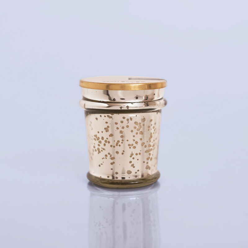 Guava Blossom Mercury Found Candle Glass, 8 oz Product View image number 0