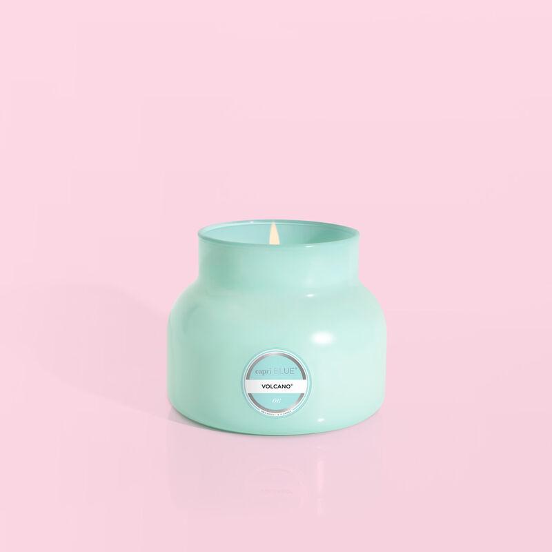 Volcano Aqua Petite Signature Candle Jar, 8oz product with no lid image number 1