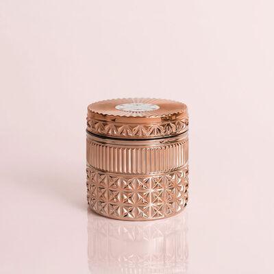 Pink Grapefruit & Prosecco Gilded Faceted Jar, 11 oz