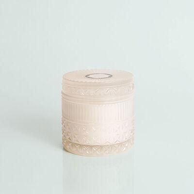 Modern Mint Faceted Jar, 11 oz