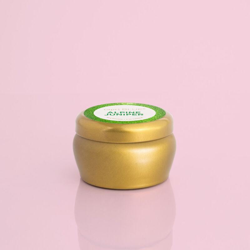 Alpine Juniper Glam Mini Tin Candle, 3oz Product View image number 0