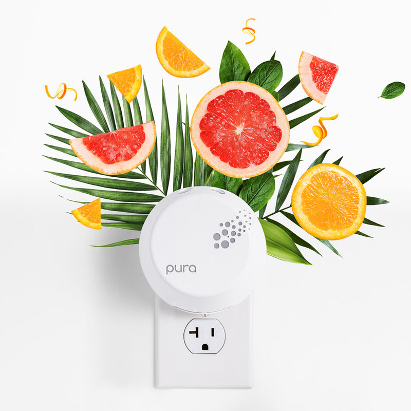 CB + Pura Smart Home Diffuser Kit, Volcano with fragrance notes image number 3