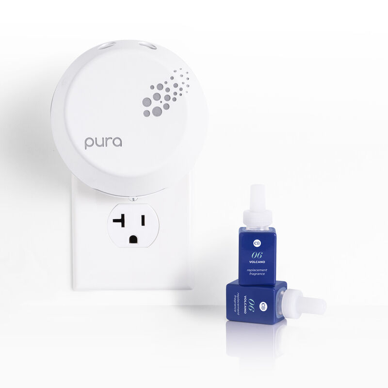 CB + Pura Smart Home Diffuser Kit, Volcano Full Product in use image number 1