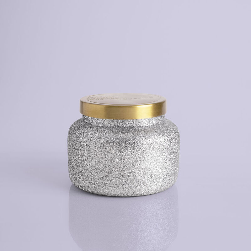 Frosted Fireside Glam Signature Candle Jar, 19 oz product view image number 0