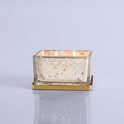 Volcano Mercury Jewel Box Candle, 4oz When Lit