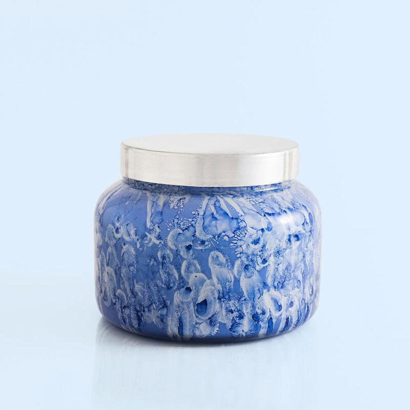 Blue Jean Watercolor Jumbo Jar, 48 oz product view image number 0