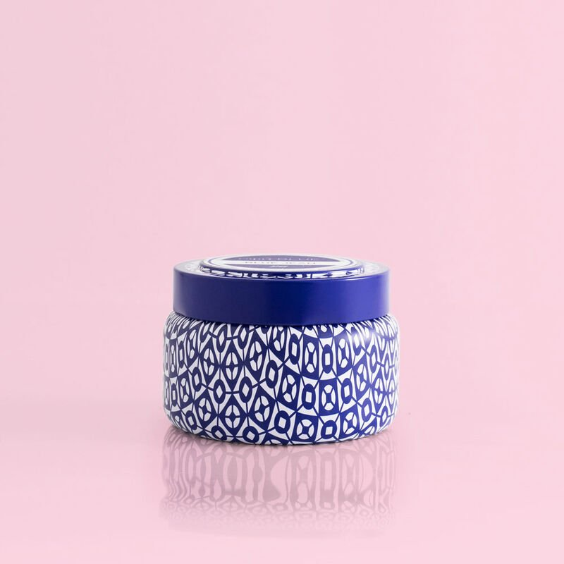 Aloha Orchid Printed Candle Travel Tin, 8.5oz product view image number 0