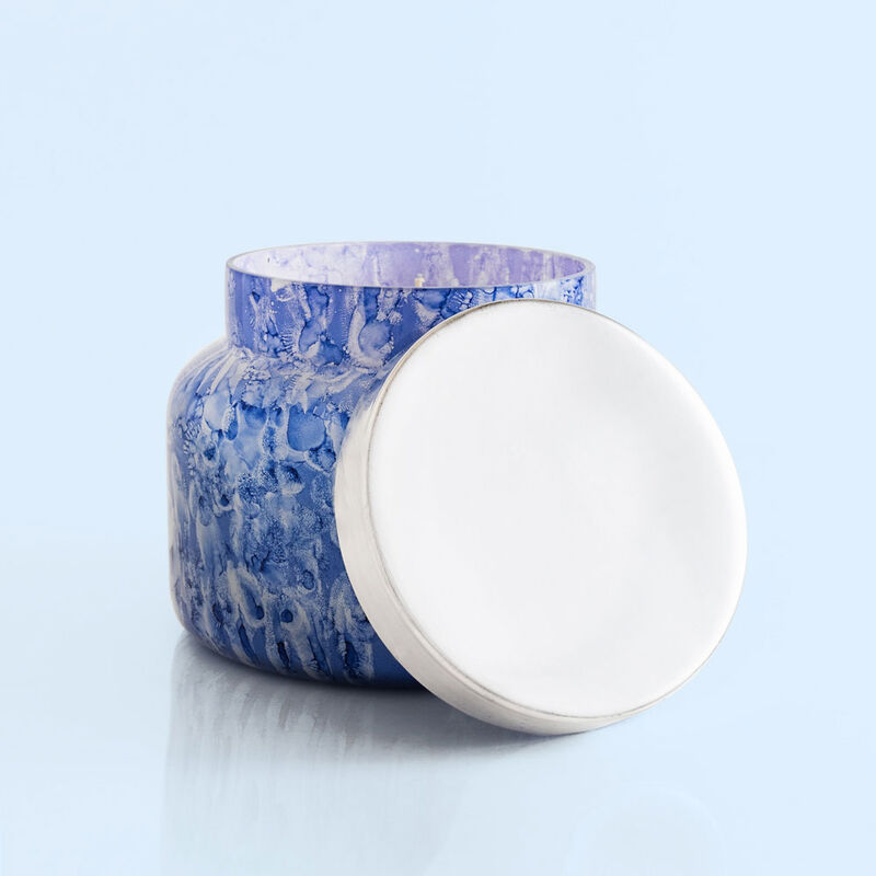 Blue Jean Watercolor Jumbo Jar, 48 oz product with lid off image number 2