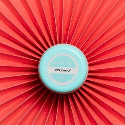 Volcano Aqua Printed Mini Candle Tin product on fan