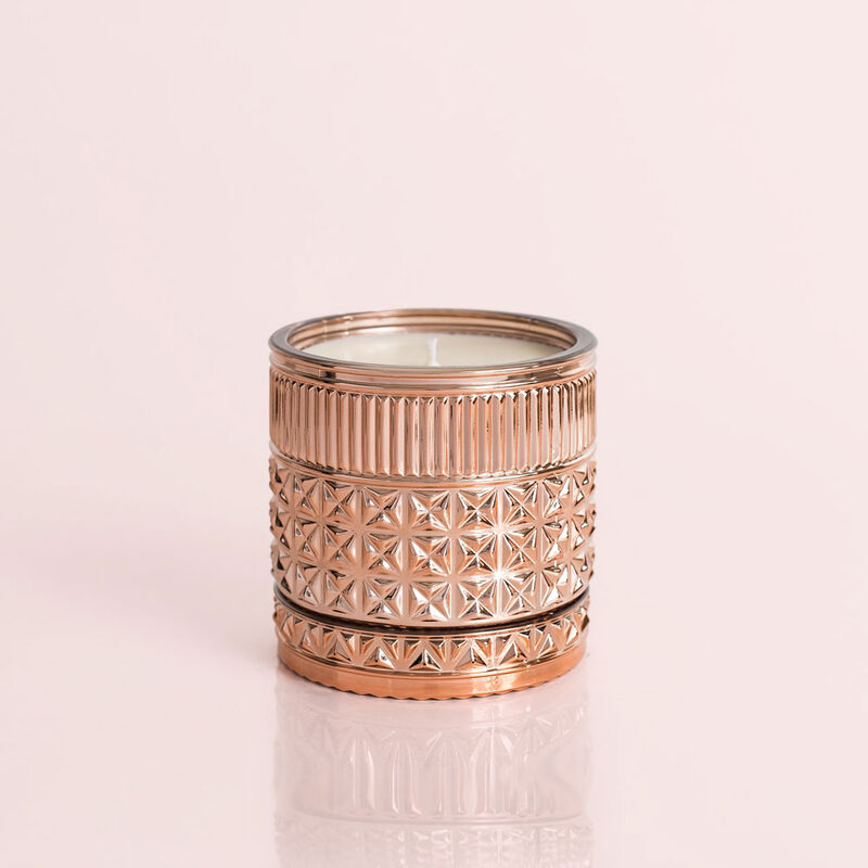 Pink Grapefruit & Prosecco Gilded Faceted Candle Jar, 11 oz Candle without Lid image number 3