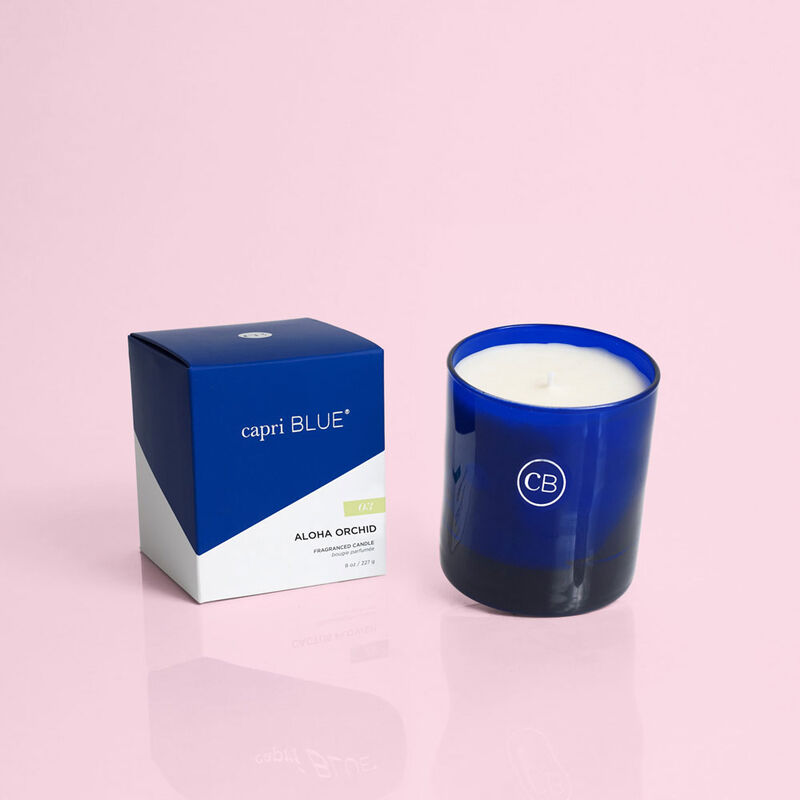 Aloha Orchid Boxed Tumbler Candle, 8oz product view image number 2